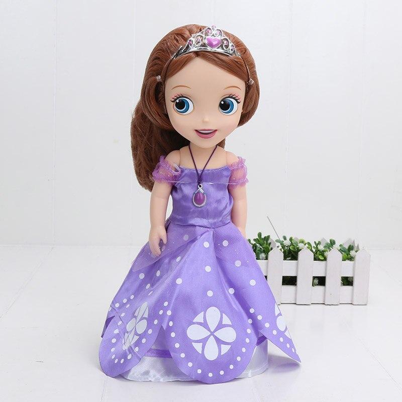 30 Cm Sofia Putri Boneka Mainan Sophia Putri Sofia Doll Puppe Boneca Poupee  Bambola BEBE Juguetes Muneca Jouets Brinquedos di Aksi   Toy Angka dari  Mainan ... b6a00de16d