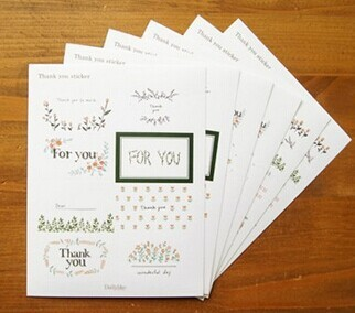 Wholesale 20bags Thank you Sticker For You Sticker Seal sticker Gift Paper Sticker For Party Favor G