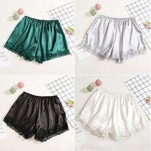 Satin Elastic Women's Shorts