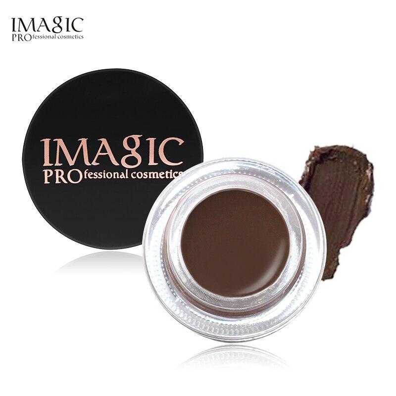Гель для бровей IMAGIC, 6 цветов, высокий тинт для бровей, профессиональный макияж, коричневый гель для бровей с кисточкой для бровей, инструмен...