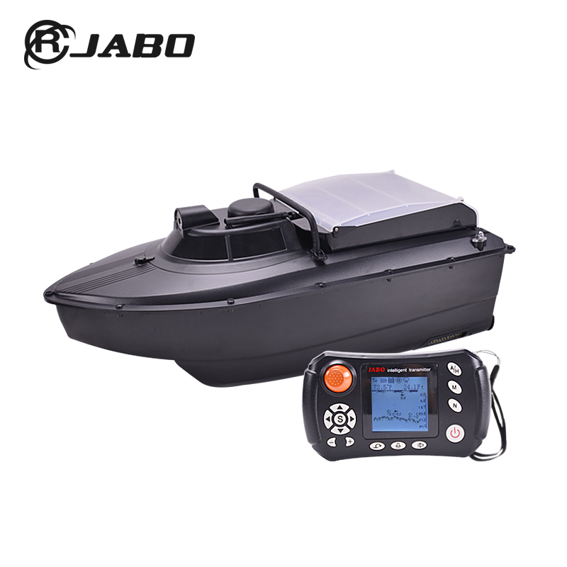 2CG-10Ah upgrade one hopper remote controlled bait boat with GPS and sonar fish finder to release carp fishing hook hook separator with lamp for night fishing to take the hook away from fish