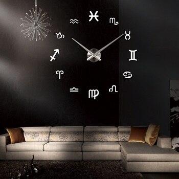 new fashion diy wall clock europe 3d big quartz watch clocks living room large home decorative still life circular stickers 13