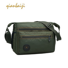 Man Affairs Shoulder Handbags Male Leisure Handbag Women Nylon Men Messenger Sling Bag Crossbody Bags For Purses And