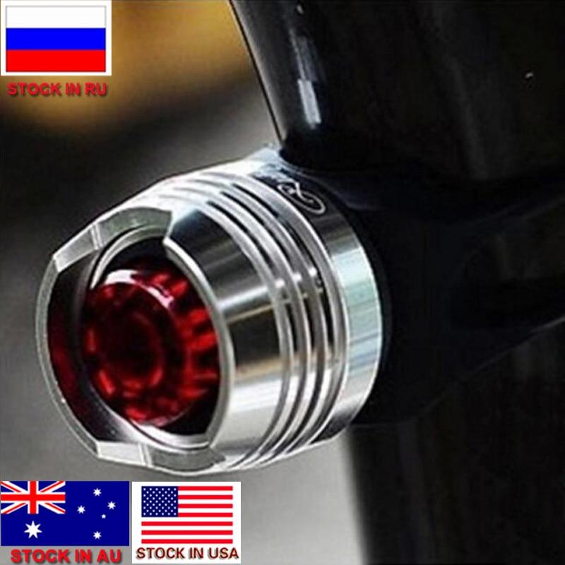 zk30 LED Wasserdicht Fahrrad Radfahren Vorne Hinten Schwanz Helm Rot Blitzlicht Sicherheitswarnlampe Radfahren Sicherheit Vorsicht Licht