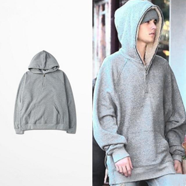 2016 new men hoodie sweatshirt oversized pullover hoodie hiphop ...