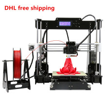 A8 High Accuracy 3D Desktop Printer Prusa i3 DIY Kit Reprap Prusa I3 Arcycle 2 Rolls Filaments 8GB SD Card/LCD Free