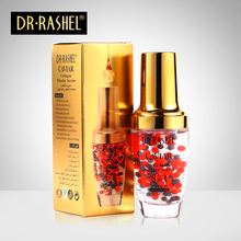 2 pcs Caviar Collagen Elastin Serum Anti Wrinkle Aging Moisturizing Whitening Face Essence Skin Care DRRASHEL 40 ml gold caviar collagen serum