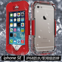 For IPhone SE Case Luxury 10M Waterproof Shockproof Germany PET Can Be Touched Cover Cases For