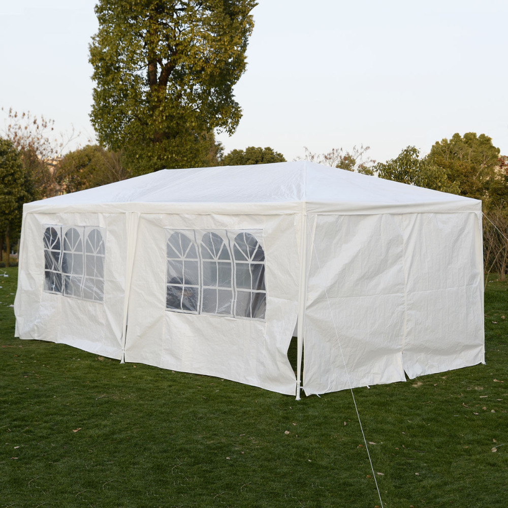Wedding Tent 10u0027x20u0027 Canopy Party Outdoor Gazebo Event Patio 4 Sidewall 2 Door AP2015WH*FDS-in Gazebos from Home u0026 Garden on Aliexpress.com | Alibaba Group & Wedding Tent 10u0027x20u0027 Canopy Party Outdoor Gazebo Event Patio 4 ...
