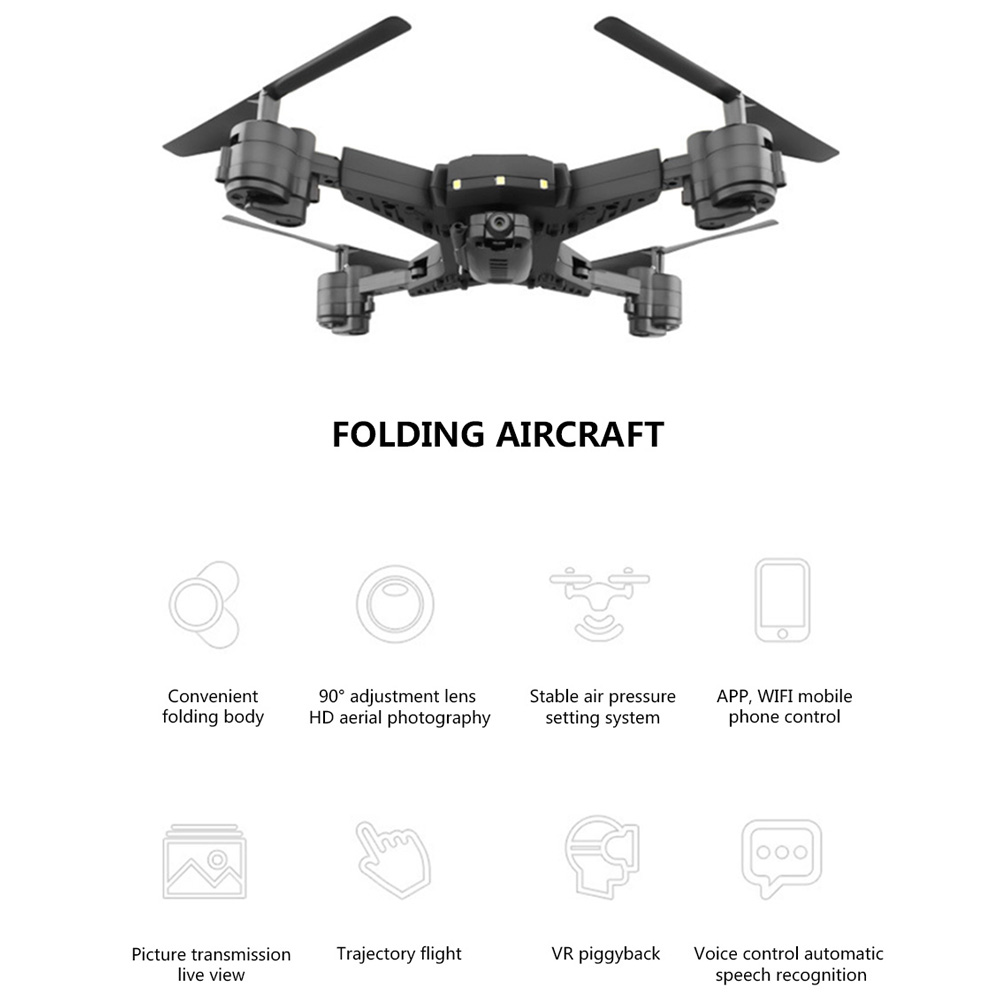 Image 4 - Drone ky601s RC Helicopter Drone with Camera HD 1080P WIFI FPV Selfie Drone Professional Foldable Quadcopter 20 Minutes Battery-in RC Helicopters from Toys & Hobbies