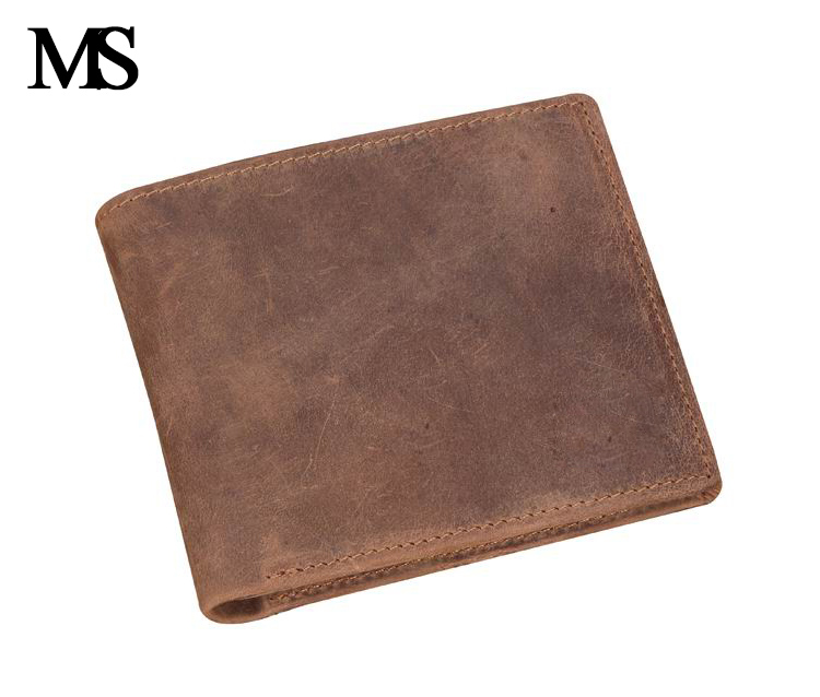 MS Brand men wallets dollar price purse Genuine leather wallet card holder designer Vintage wallet high quality TW1602-3