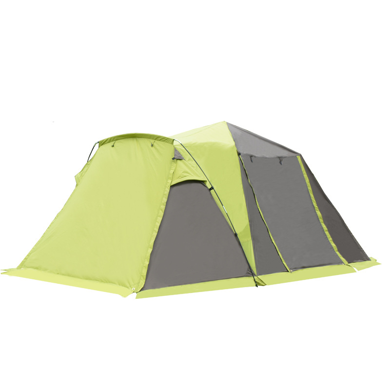New Outdoor 3-4 automatic tent automatic speed open camping waterproof anti-rain camping tent outdoor camping hiking automatic camping tent 4person double layer family tent sun shelter gazebo beach tent awning tourist tent