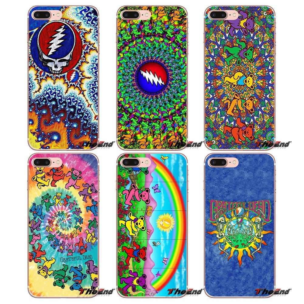 Band Muziek Band Grateful Dead Telefoon Case Voor iPhone X 4 4 S 5 5 S 5C SE 6 6 S 7 8 Plus Samsung Galaxy J1 J3 J5 J7 A3 A5 2016 2017