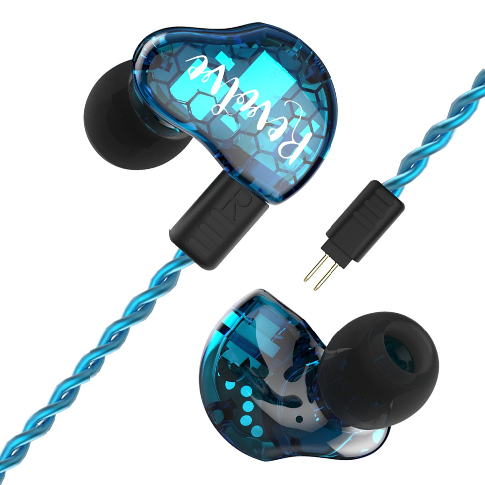 Revonext RX8s 1DD+2BA Hybrid In Ear Earphone HIFI DJ Monitor Running Sport Earphone Earplug Headset Earbud Upgraded RX8