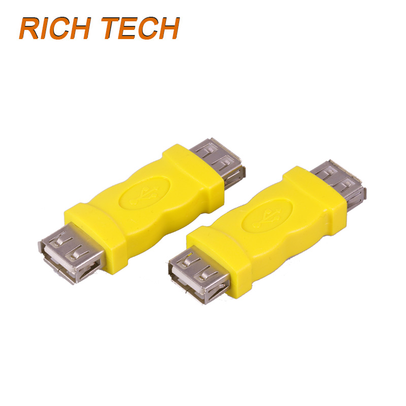 30 pcs USB A Type Female to A Type Female extended adapter USB 2.0 AF to AF USB connector