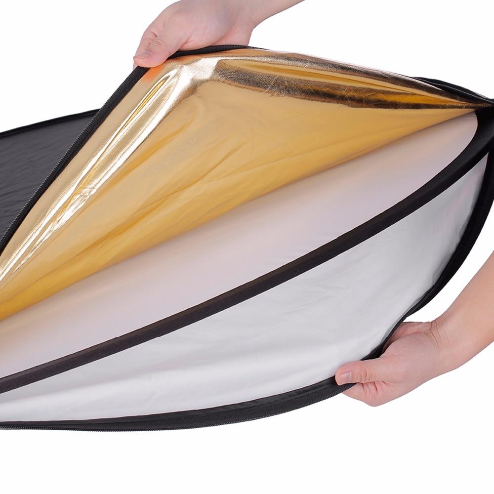 NEEWER Reflector de luz multidireccional plegable de cuatro colores, - Cámara y foto - foto 3