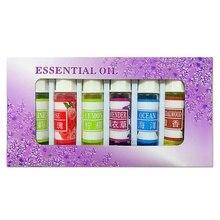 2017 Hot Style Beauty Water-soluble Fresh rose/lemon/Sandalwood/Lavender/Jasmine Essential Oil 5mlx 6pcs/Set M2