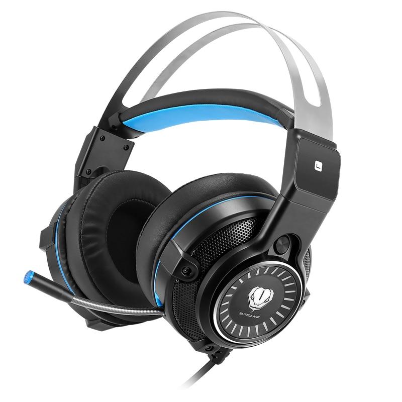 Bt Gaming kopfhörer Kopfhörer Gaming Headset Kopfhörer Xbox Ein Headset mit mikrofon für pc ps4 playstation 4 laptop telefon