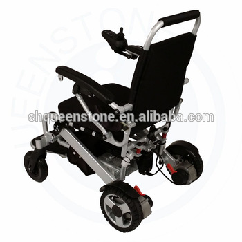Easy Steering handicapped Electric Wheelchair aluminium powered ...