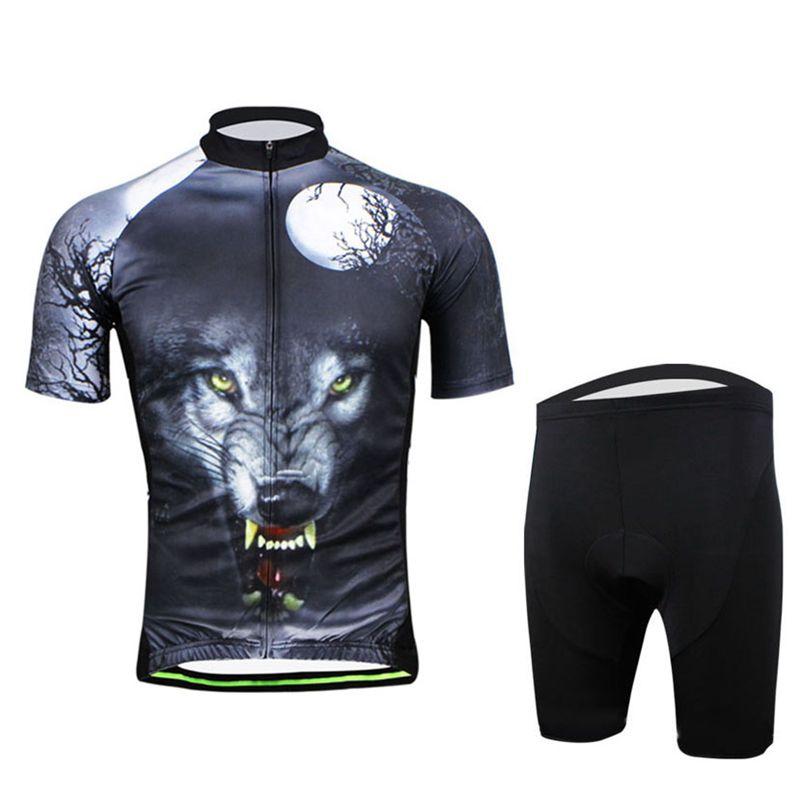 ФОТО AOGDA Wolf Sportswear road racing ciclismo Cycling Jerseys Bike bicycle apparel bib shorts sweat suits S-XXXL