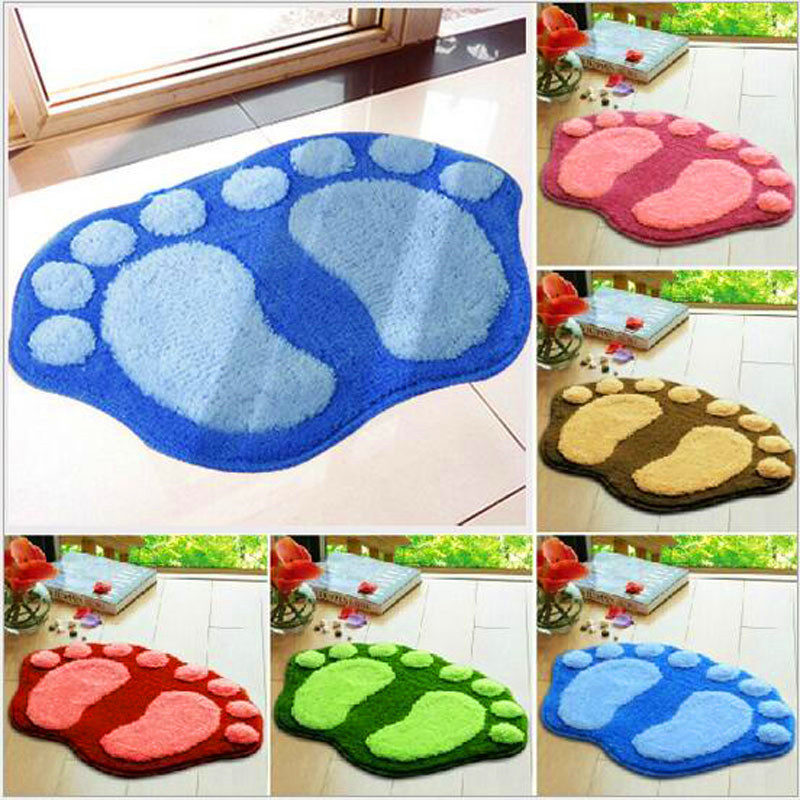 The Newly Arrived 40 * 60cm Foot Foot Bedroom Carpet Doormat Heart-shaped Lovely High Quality Pad Wholesale
