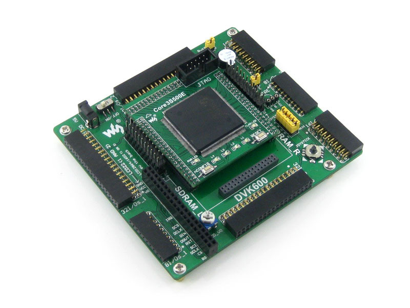 Modules XILINX FPGA Development Board Xilinx Spartan-3E XC3S500E Evaluation Kit+DVK600+ XC3S500E Core Kit = Open3S500E Standard waveshare xc3s250e xilinx spartan 3e fpga development board 10 accessory modules kits open3s250e package a
