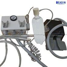 Высокое качество настенный тип висит зубные лаборатория портативный турбины блок наконечник для трубы 2 шт. 4 отверстия или отверстие трубки