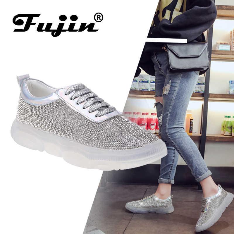 Fujin бренд коллекция 2019 года сезон весна лето модная повседневная обувь туфли на