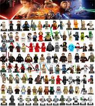 Legoing Star Wars Building Blocks Figure Han Solo Anakin Darth Vader Yoda Star Wars Toys Compatible Legoings Starwars Figures(China)
