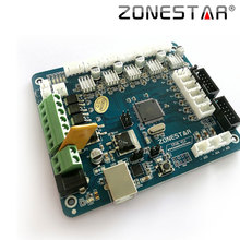 Zonestar Reprap 3D Printer Controller Board Motherboard ZRIB Compatible with RAMPS 1.4 Control Mendel  i3 ATMEGA 2560