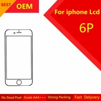 1PcsAAA OEM For IPhone 6 Plus Lcd Assembly Screen Replacement Display Touch Screen LCD Digitizer 5