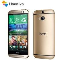 """Vente chaude D'origine HTC One M8 Déverrouillé GSM/WCDMA/LTE Quad-core RAM 2 GB ROM 32 GB Cellulaire Téléphone HTC M8 5.0 """"3 Caméras mobile Téléphone"""