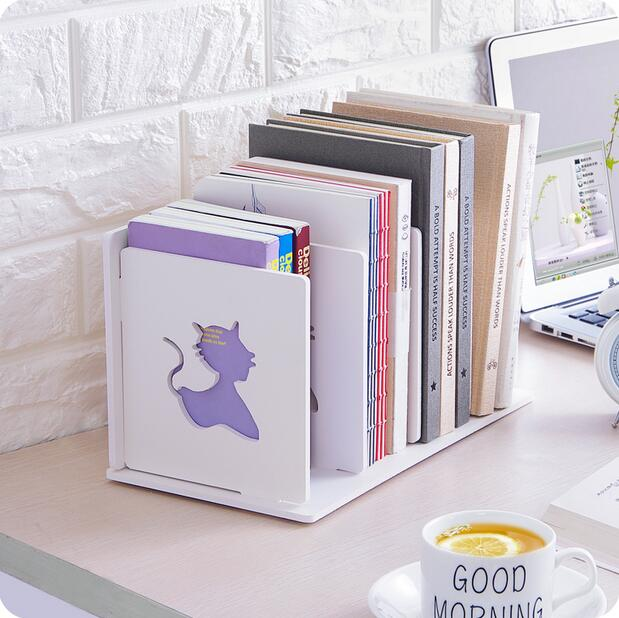 desktop file organizer multilayer office data opbergrek hout boek plankchina mainland