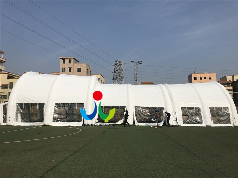 _20171225155515_  Customized PVC Arched Inflatable Wedding Party/ Sport Event Tent PVC /carpa inflable/tente gonflable HTB15Fymj0fJ8KJjy0Feq6xKEXXaF
