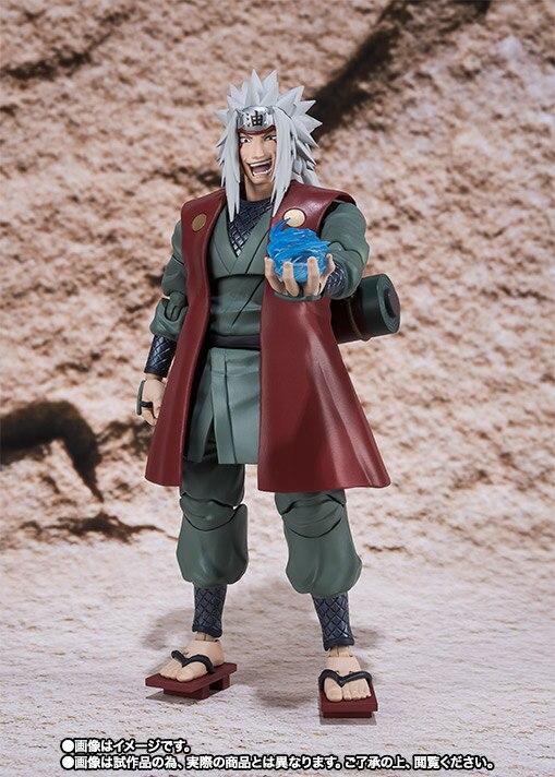 Anime Naruto Shippuden Jiraiya SHF BJD Joints Moveable figure Model Toys
