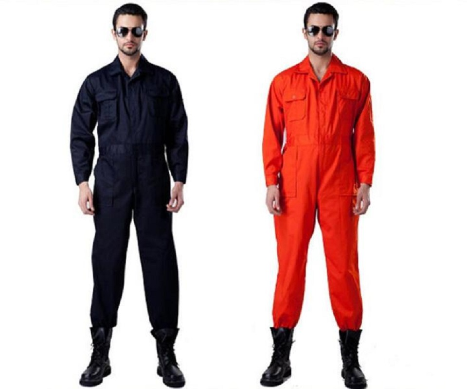 Men Women Workwear Miner Coveralls Protective Coverall Repairman Jumpsuits Working Uniforms Workshop Long Sleevel Coveralls