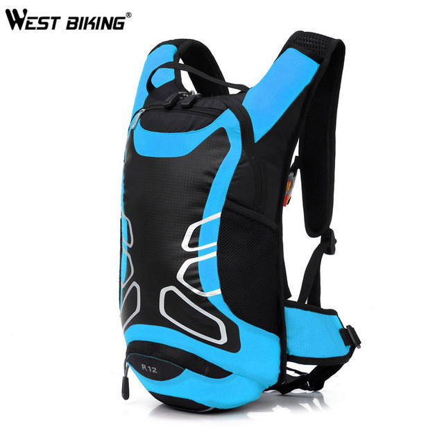 West Biking Bicycle Bag Shoulder Backpack Ultralight Sport Riding Mtb Hydration 12l Bike Cycling