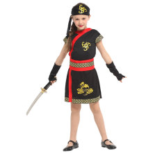 Invincible Ninja Girl Costume Child Halloween Purim Carnival Party Mardi Gras Fancy Dress все цены
