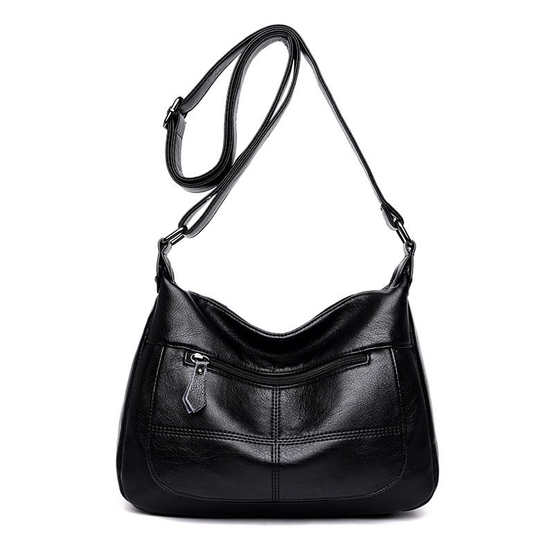 Sac A Main Femme Leather Luxury Handbags Women Bags Designer Hand bags Women Shoulder Crossbody Messenger Bag Casual Tote C868 in Shoulder Bags from Luggage Bags