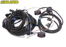 Blind spot Side Assist lane change Wire cable Harness For AUDI A6 C7