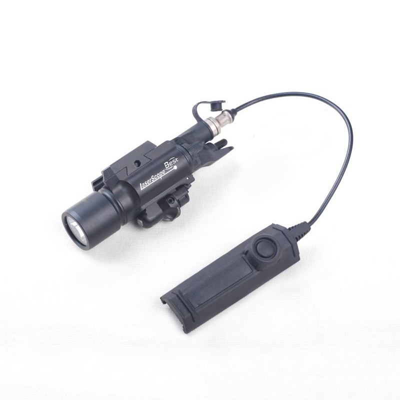 ФОТО Tactical Combo 500 Lumen Flashlight with Green/Red Laser Sight for Hunting Rifle Airsoft Pistol Handgun 20mm Picatinny Rail