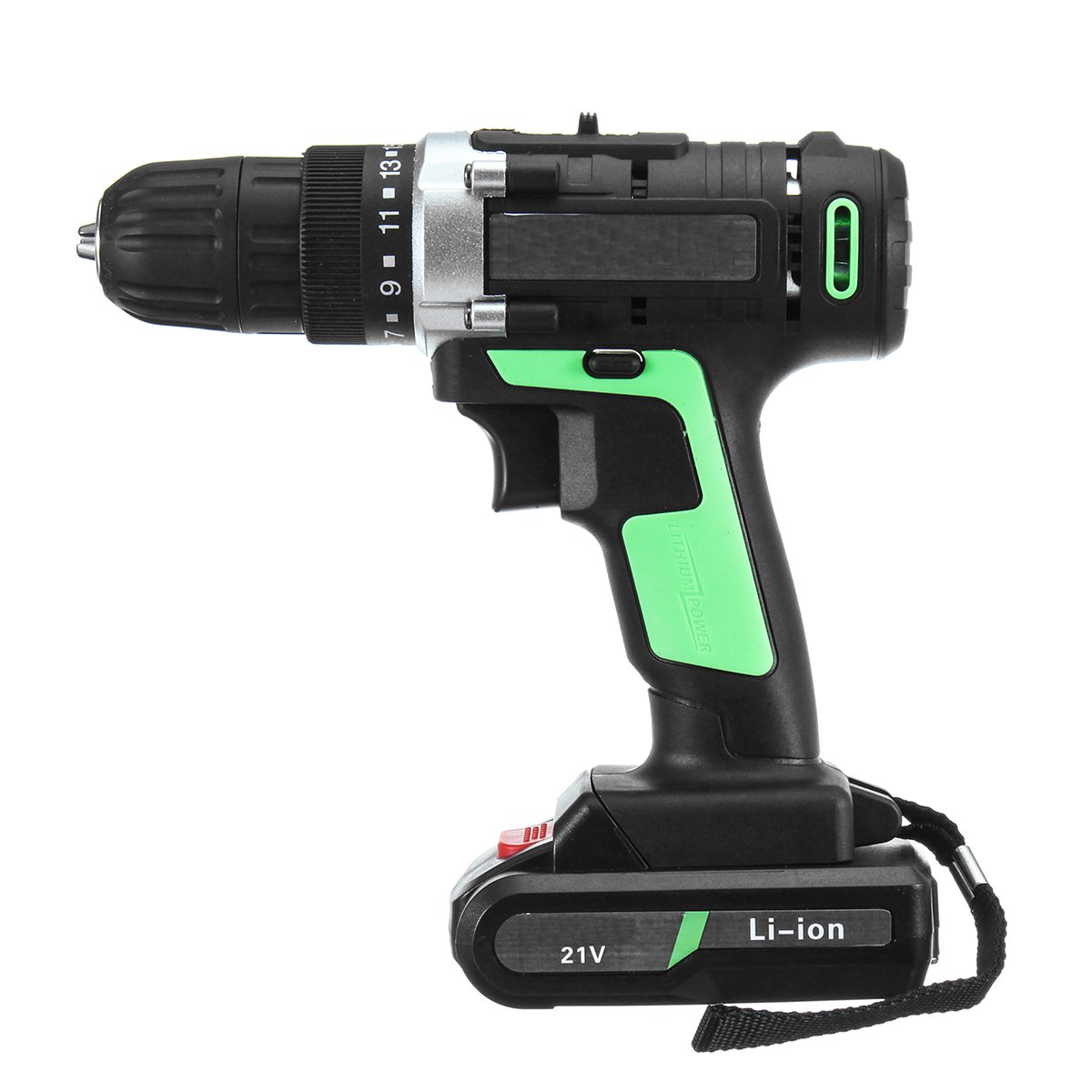 21V additional lithium-ion Battery Cordless Electric hand Drill driver Wrench hole electrical Drill power tools 1 2 li ion 58v 4 8ah 2800r min lithium battery socket wrench electric impact wrench car tyre wheel cordless wrench drill