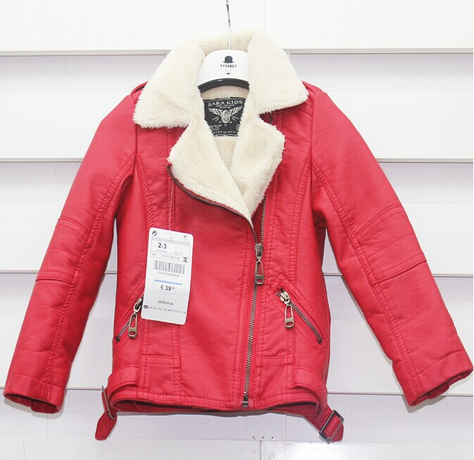 b3b67e50f Top Quality Brand Designer Children Outerwear Baby Boys Girls PU ...