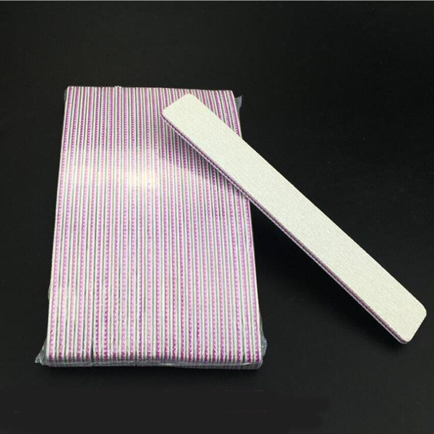 50 pcs 100/180 Nail Files Block Buffer For Manicure UV Gel Polisher Polish Pedicure Buffers Tips Tools