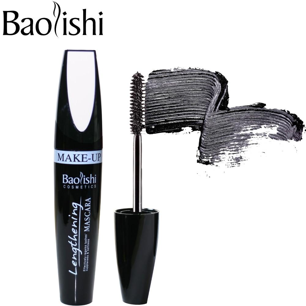 Baolishi Marka makyaj 3d elyaf maskara Uzatma ve Kalıcı Kalın - Makyaj