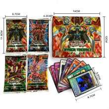 New English Version Yugioh cards Yu-Gi-Oh Trading Card Classical Collection Charizard Pikachu EX GX MEGA Game Cards(China)