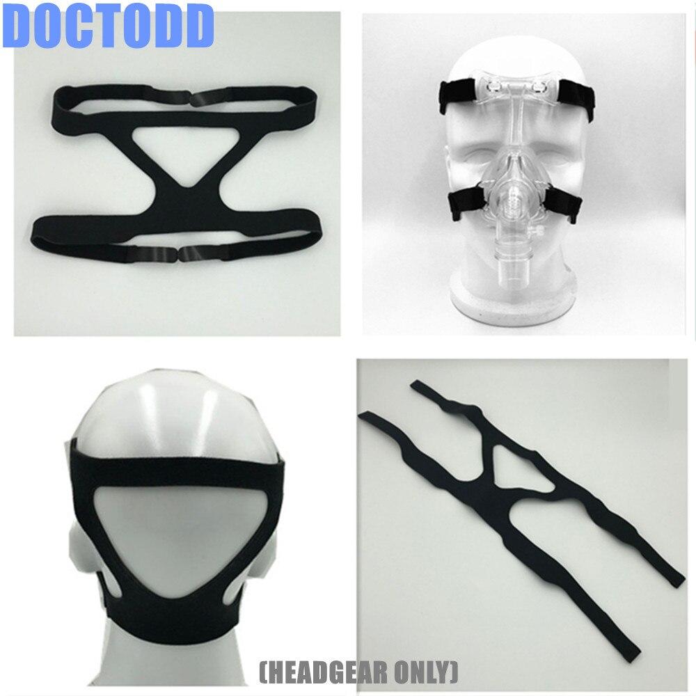 Headgear For Nasal Mask Full Face Mask Elastic Fiber Headgear Universal For All Nasal And Full Face Mask