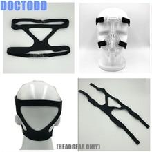 Головной убор для носовой маски, маска для всего лица из эластичного волокна, головной убор, универсальная маска для всего носа и всего лица