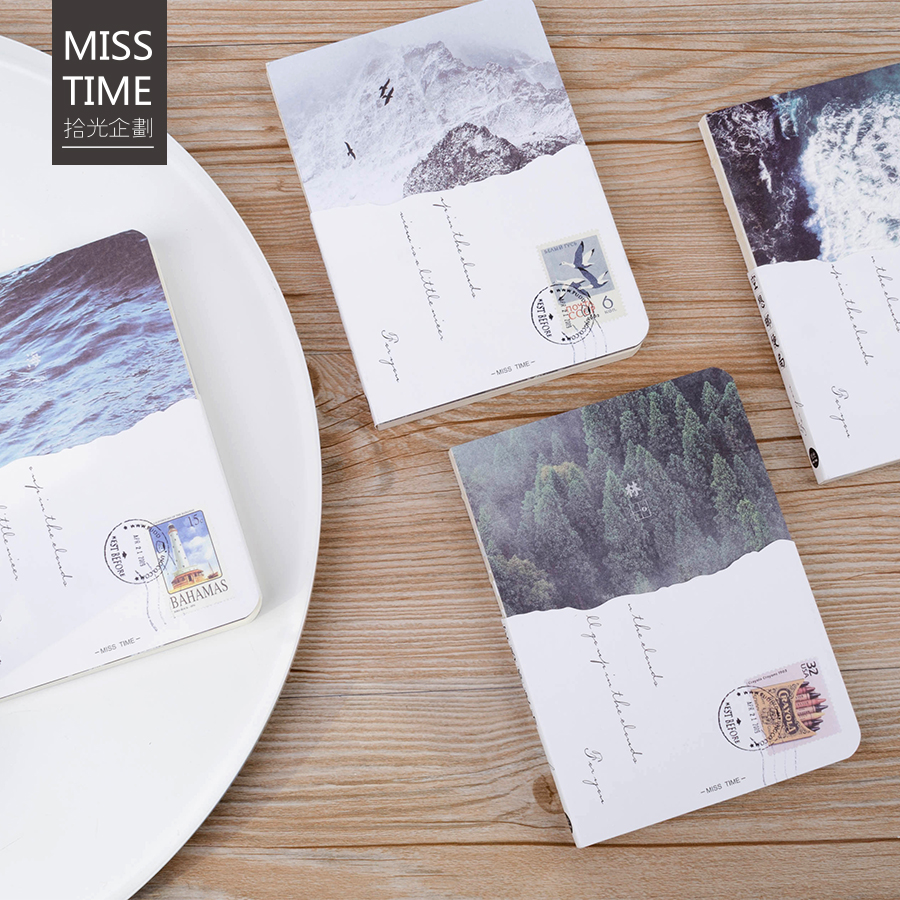 Watercolor Sketchbook 40 Sheets Drawing Paper Art Book Notepad Elastic Band Gift