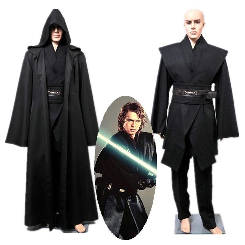 Star Wars Revenge of the Sith Anakin Skywalker Cosplay disfraz Halloween  Star Wars bata traje para adultos hombres talla S XXXL en Disfraces TV y  películas ... 5c987de117ae